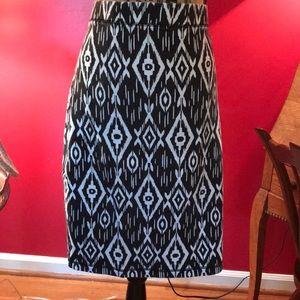 Old Navy Black/White Skirt